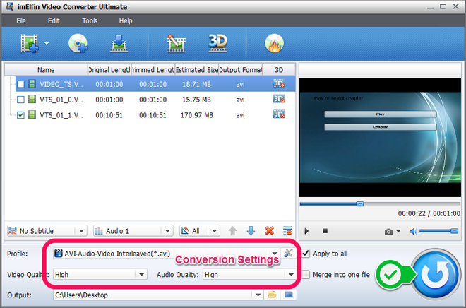 convert iso file to avi free software
