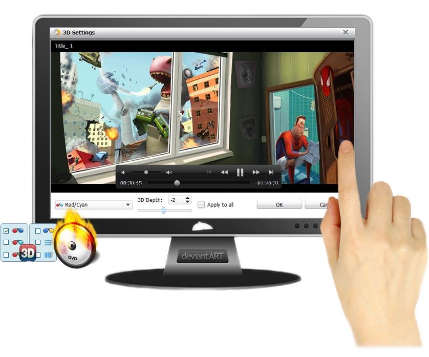 DVD-Ripper2D to 3D