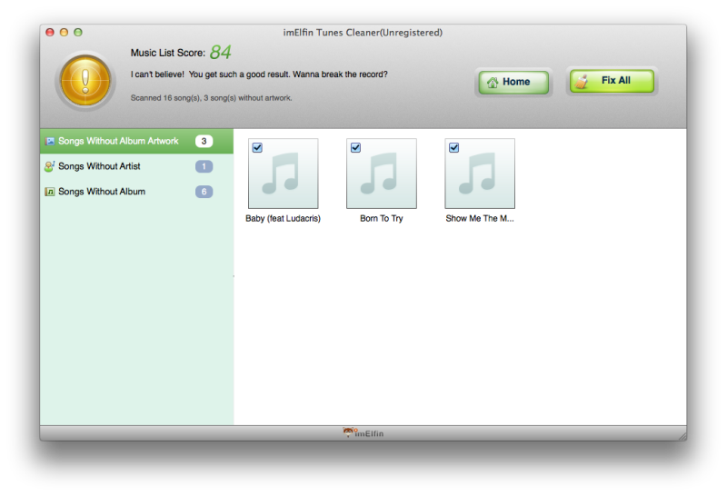Repair iTunes Music Library
