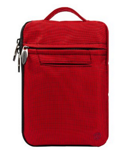 VanGoddy Hydei Bag Case for Amazon Kindle Fire HDX 7 Tablet - red