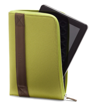 "Amazon Kindle Fire HDX 7"" Zip Sleeve lime"