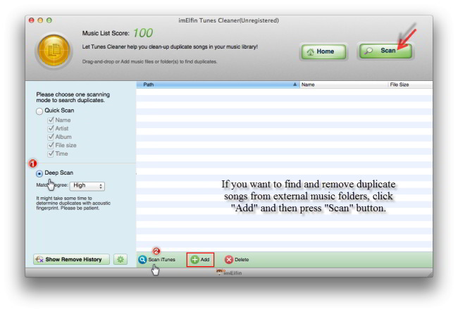 how to show duplicates in itunes 12
