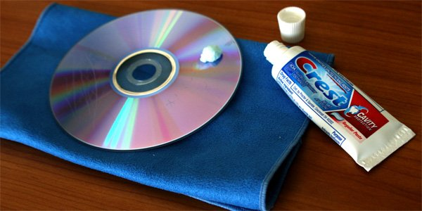 Remove Car Scratches With Toothpaste >> How to Fix Scratched Blu-Ray Discs