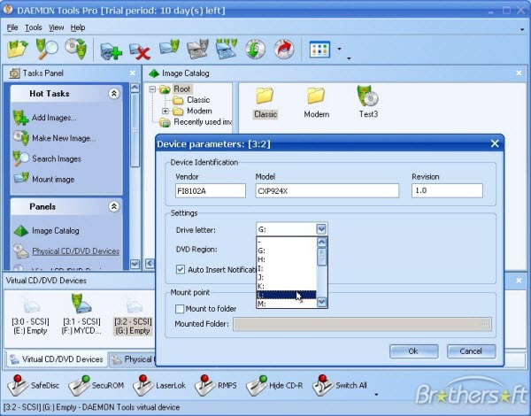 Daemon Tools Lite free dvd burner software