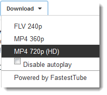 How to download YouTube video in one click