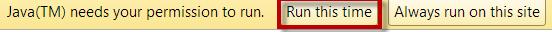 Java running on KEEPVID