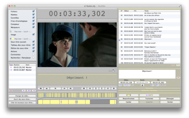 Subs Factory Subtitle editor for Mac