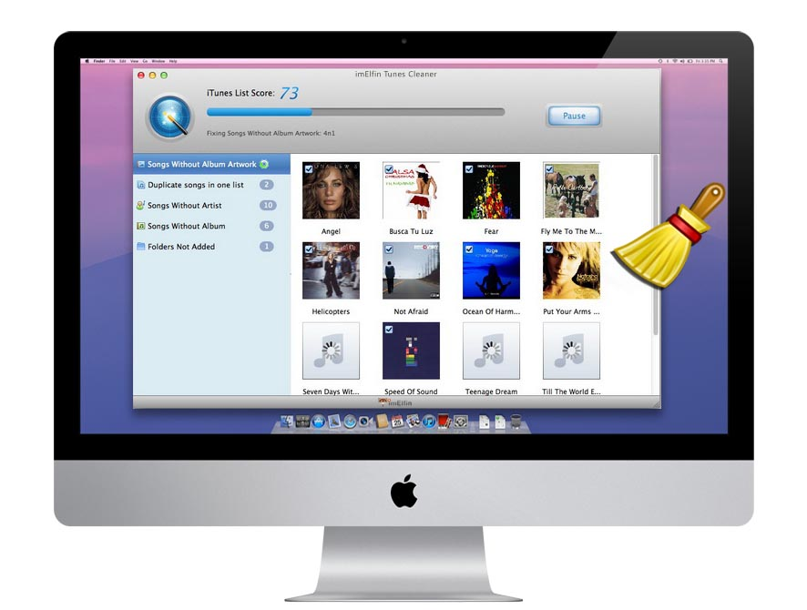 iTunes Cleaner, Clean, fix and repair iTunes library